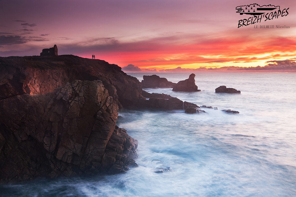 Photograph Pink sunset by Breizh'scapes Photographes on 500px
