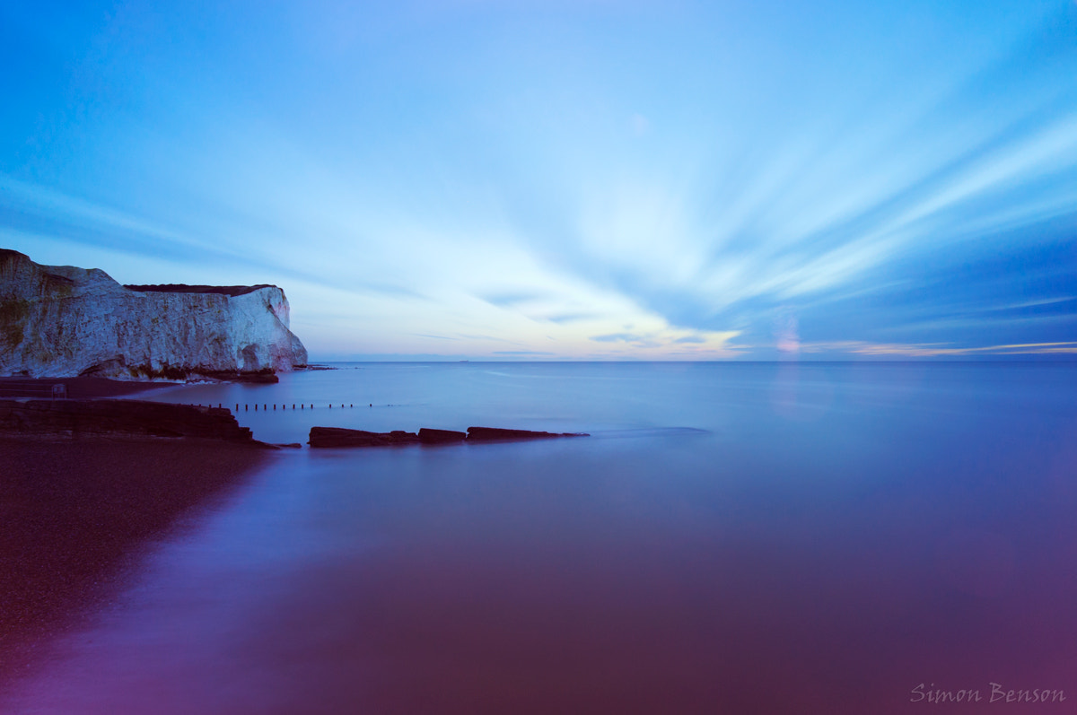 Photograph Seaford Head Long Exposure by Simon Benson on 500px