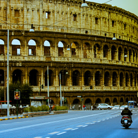 The Colosseum  by Sohail Fazluddin (sohailfazluddin)) on 500px.com
