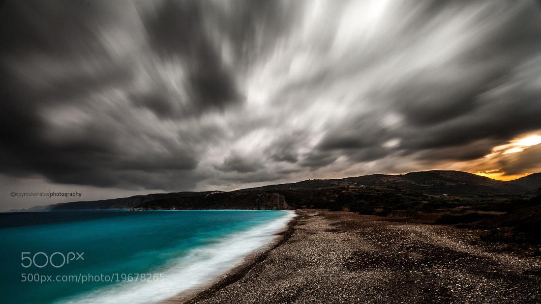 Photograph paleopolis beach. by spyros kanatas on 500px