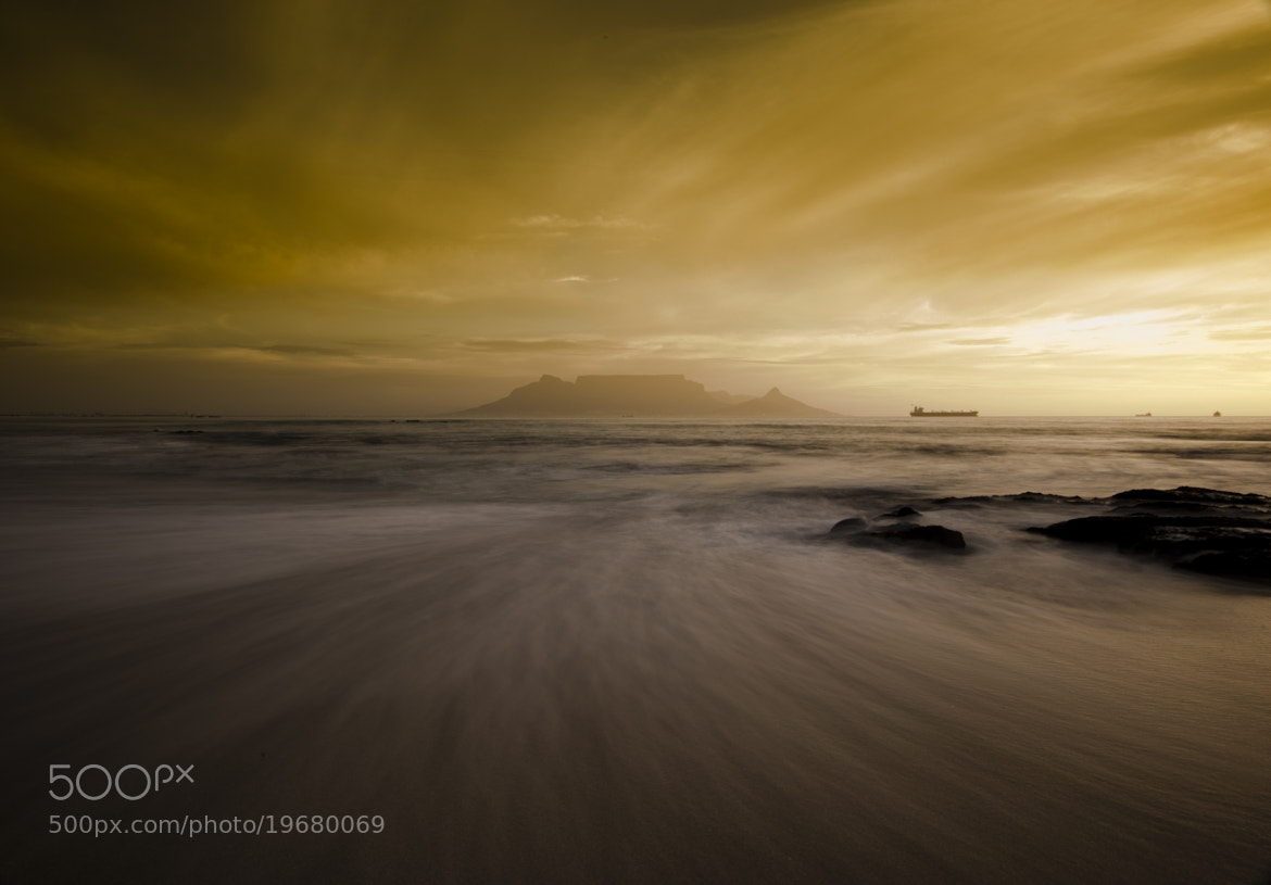Photograph Bloubergstrand Sunset - Cape Town by Mujahid UrRehman on 500px
