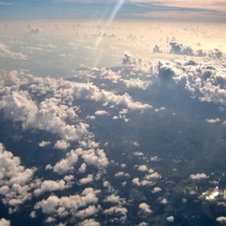 Beautiful sky over Hong Kong
