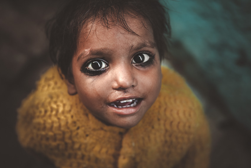 Black Eyes. Varanasi India by Marji Lang on 500px.com