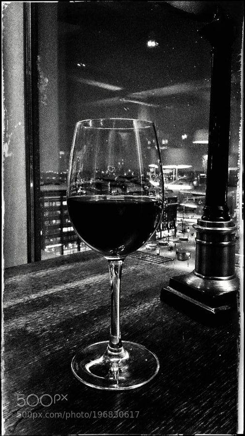 Wine & Helsinki - B&W Version by tarkane