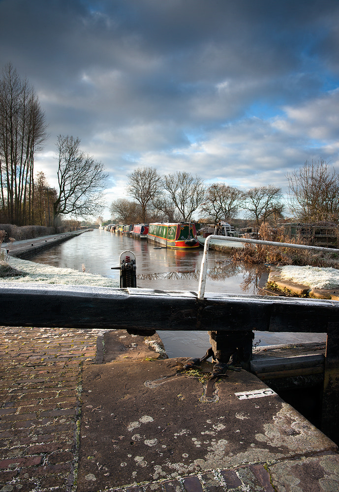 Photograph Ice on the canal by nwm  on 500px
