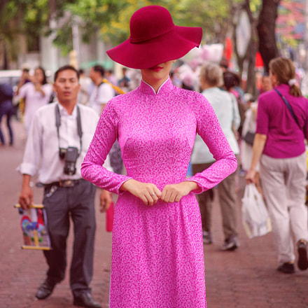 Saigon'sa lady, RICOH PENTAX K-3, HD PENTAX-DA 70mm F2.4 Limited
