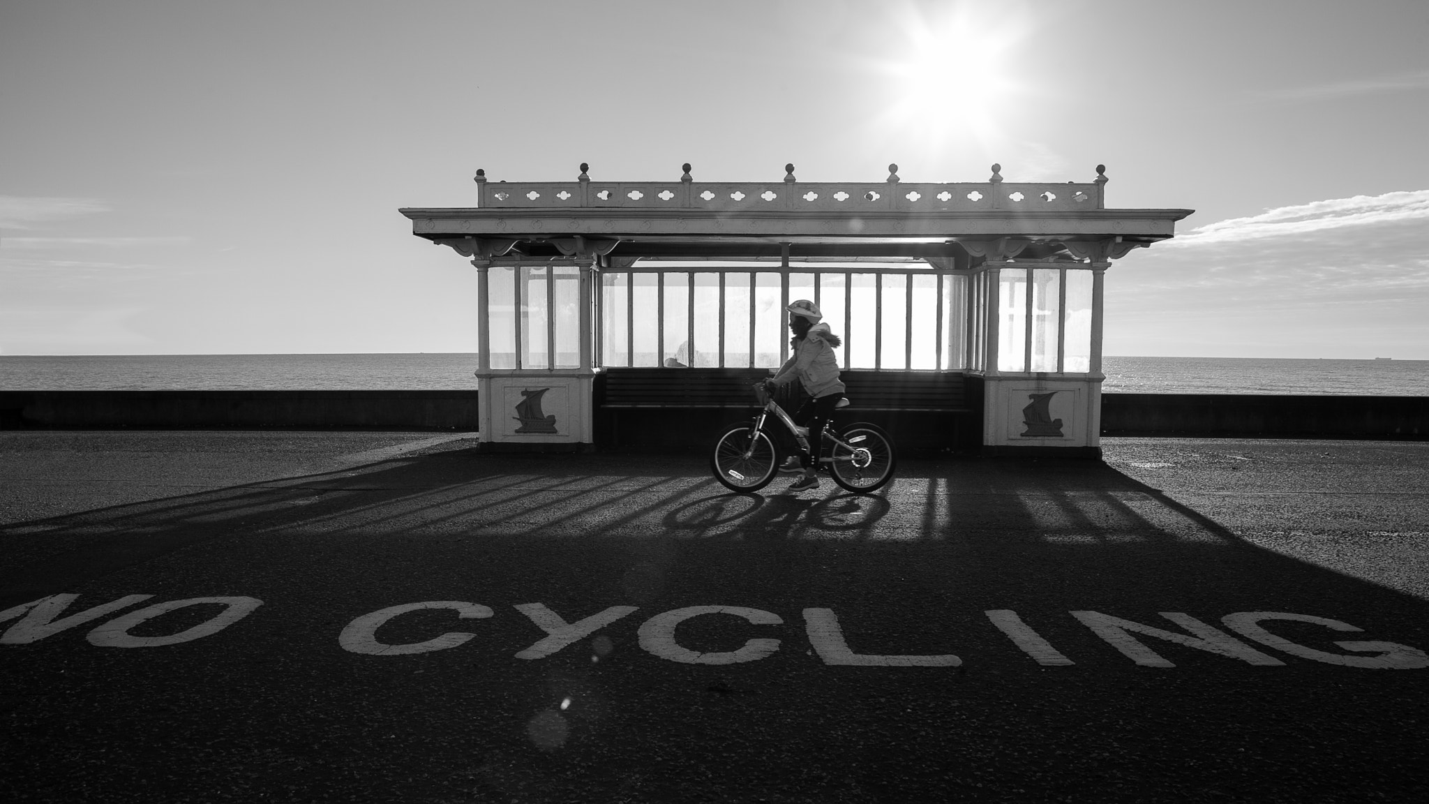 Photograph No Cycling by Dade Freeman on 500px