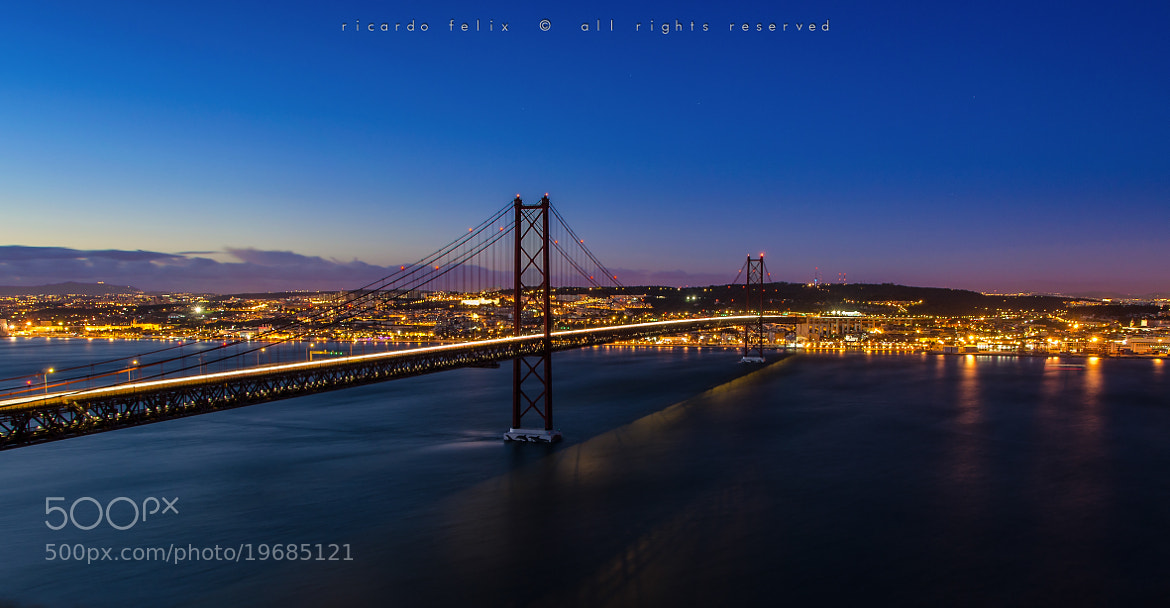 Photograph Ponte 25 de Abril #4 by Ricardo Bahuto Felix on 500px