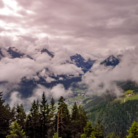Clouds over the valley, Nikon COOLPIX L25