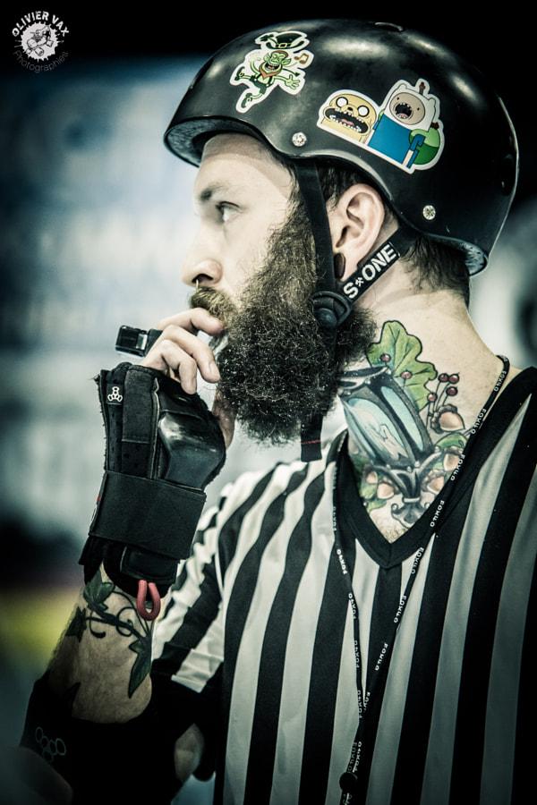 Roller Derby by Olivier Vax