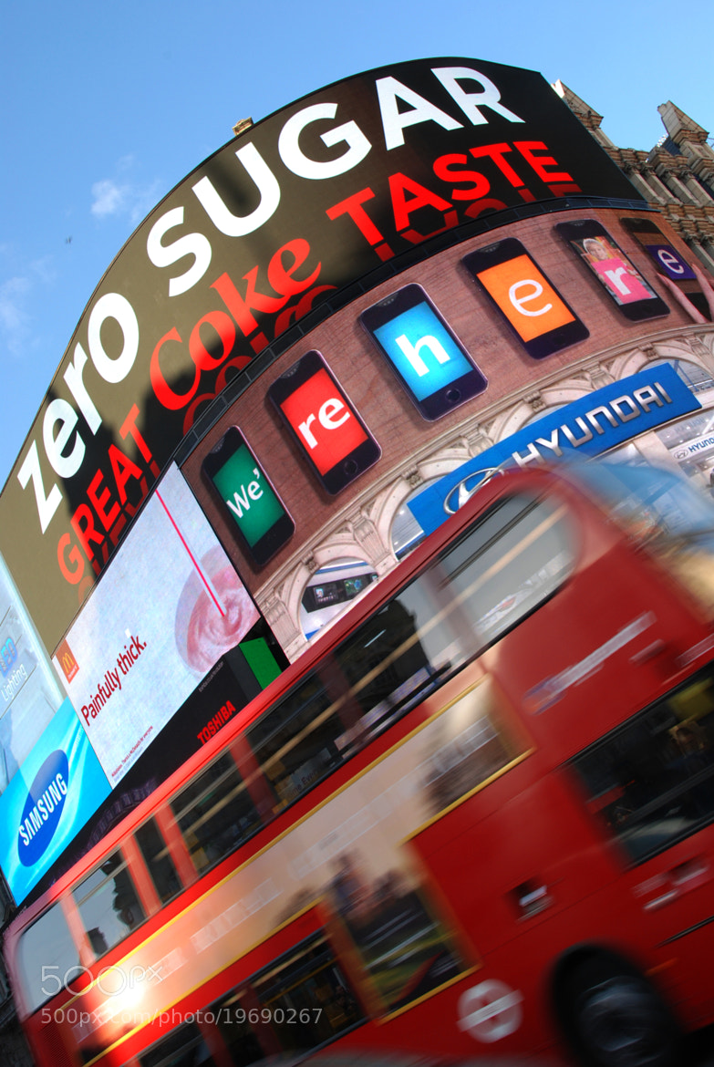 Photograph Moving Piccadilly by Luigi Doveri on 500px