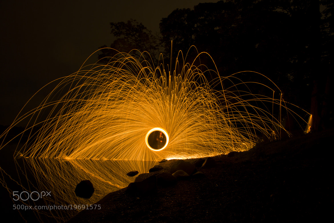 Photograph Night Fire by Simon Ward on 500px