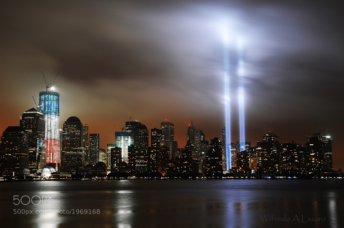 Photograph 2011 Tribute In Light 9/11 WTC by Wilfredo  Lazaro on 500px