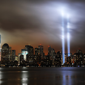 2011 Tribute In Light 9/11 WTC by Wilfredo  Lazaro (WilfredoLazaro)) on 500px.com