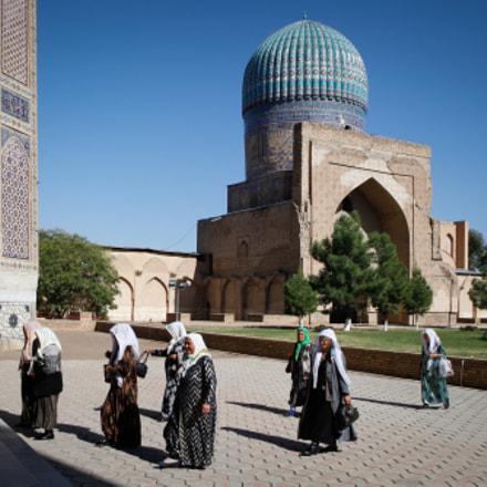 Uzbek pilgrims