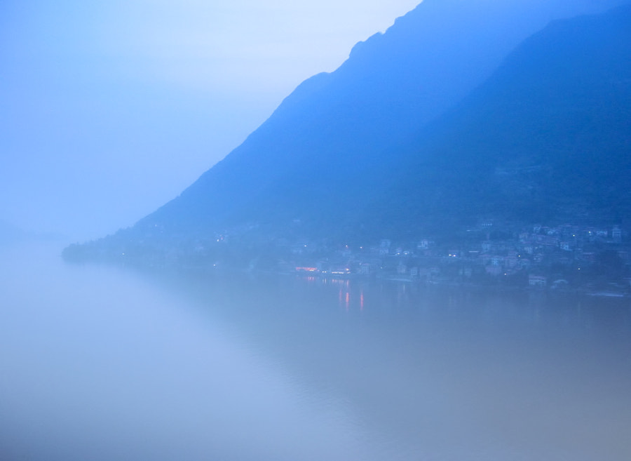 Foggy Evening on Lago di Como