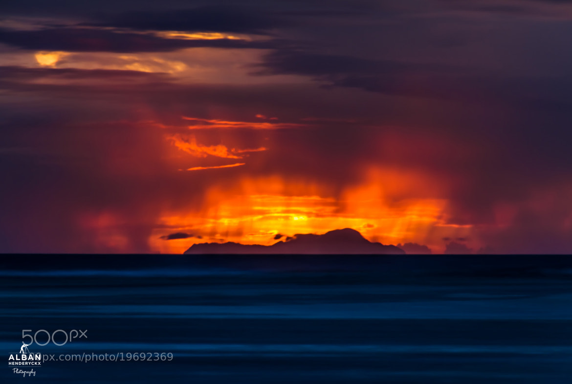 Photograph Silhouette on fire by Alban Henderyckx on 500px