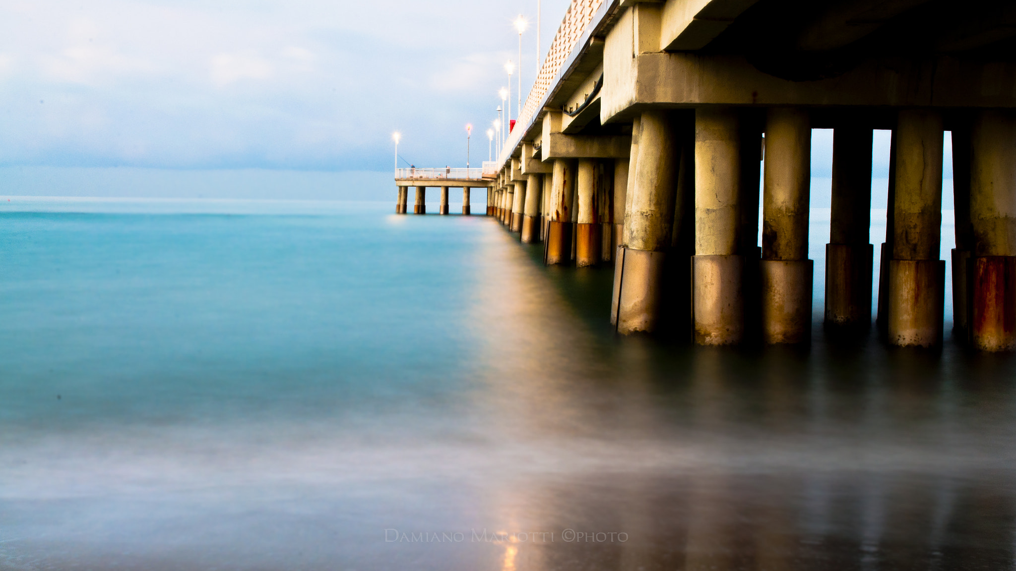 Photograph Old pier - Side A by Damiano Mariotti on 500px