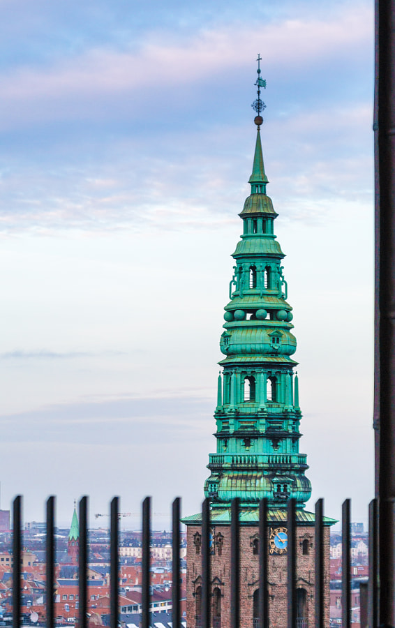 Magnificent View from Christiansborg Palace