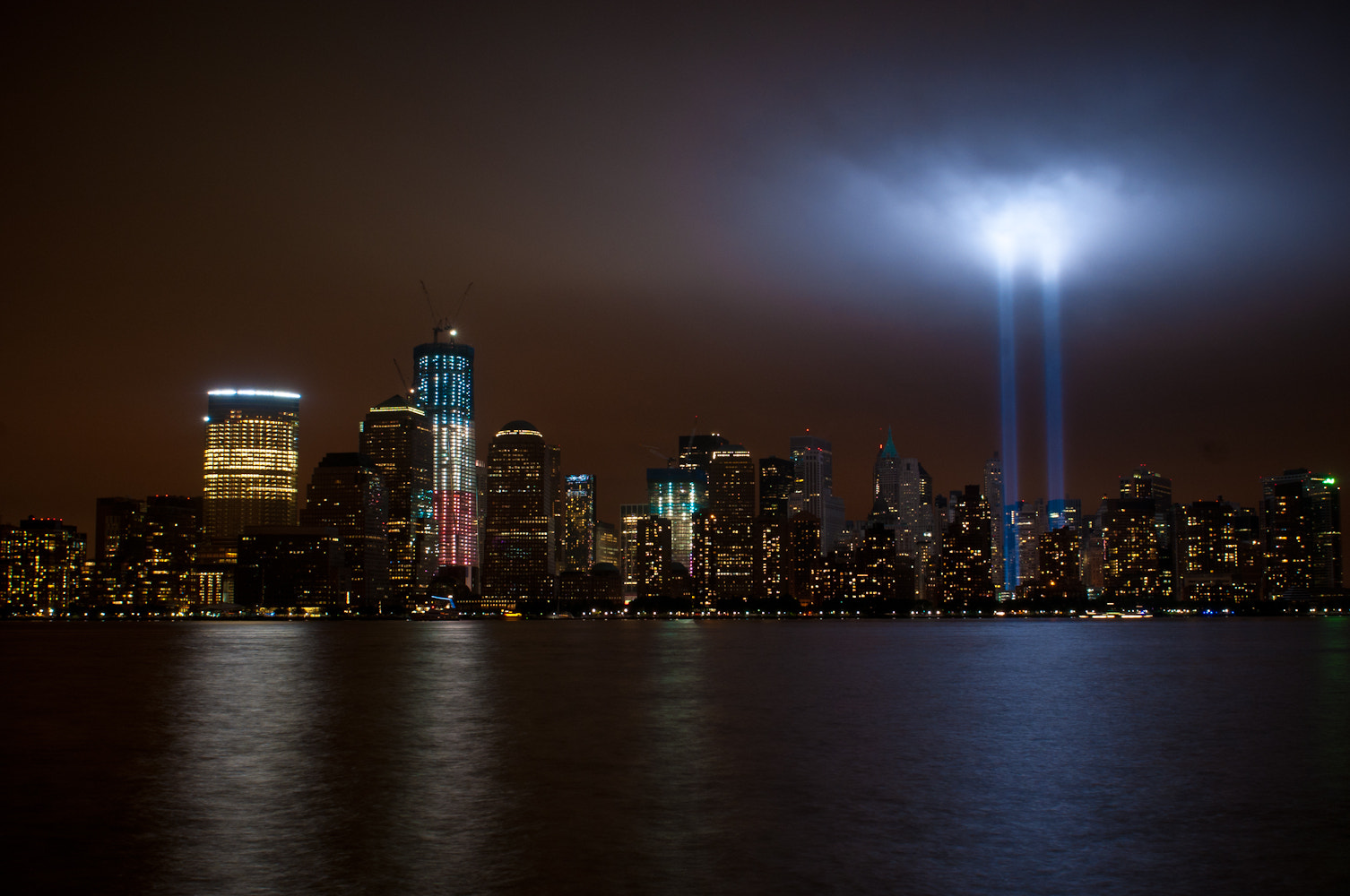 Photograph WTC Towers of Light by Arclight Images on 500px