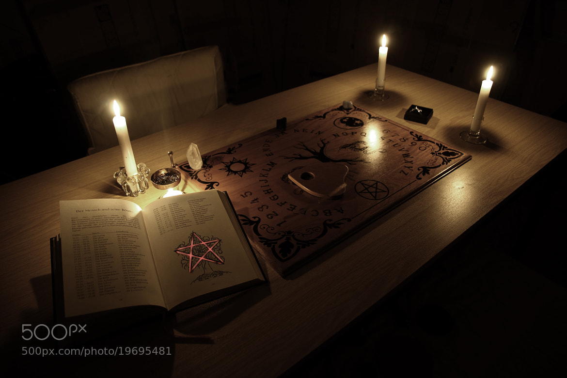 Photograph Mystery of Ouija by Tom  H. on 500px