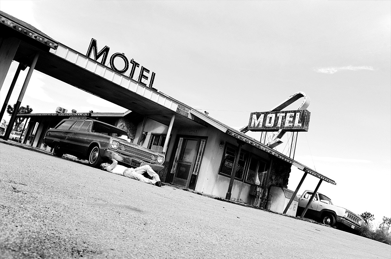 Photograph Motel in the Desert by Cory Zimmermann on 500px
