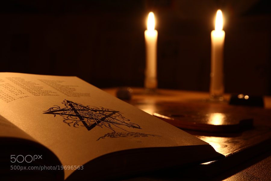 Photograph Book of witchcraft by Thomas H. on 500px
