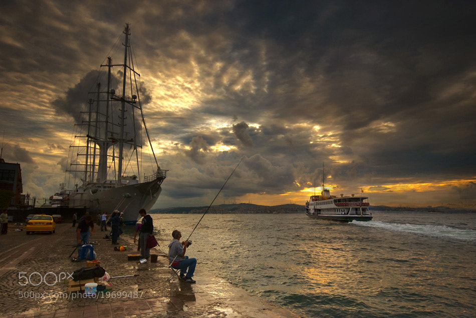 Photograph morning fisher by mustafa yagci on 500px
