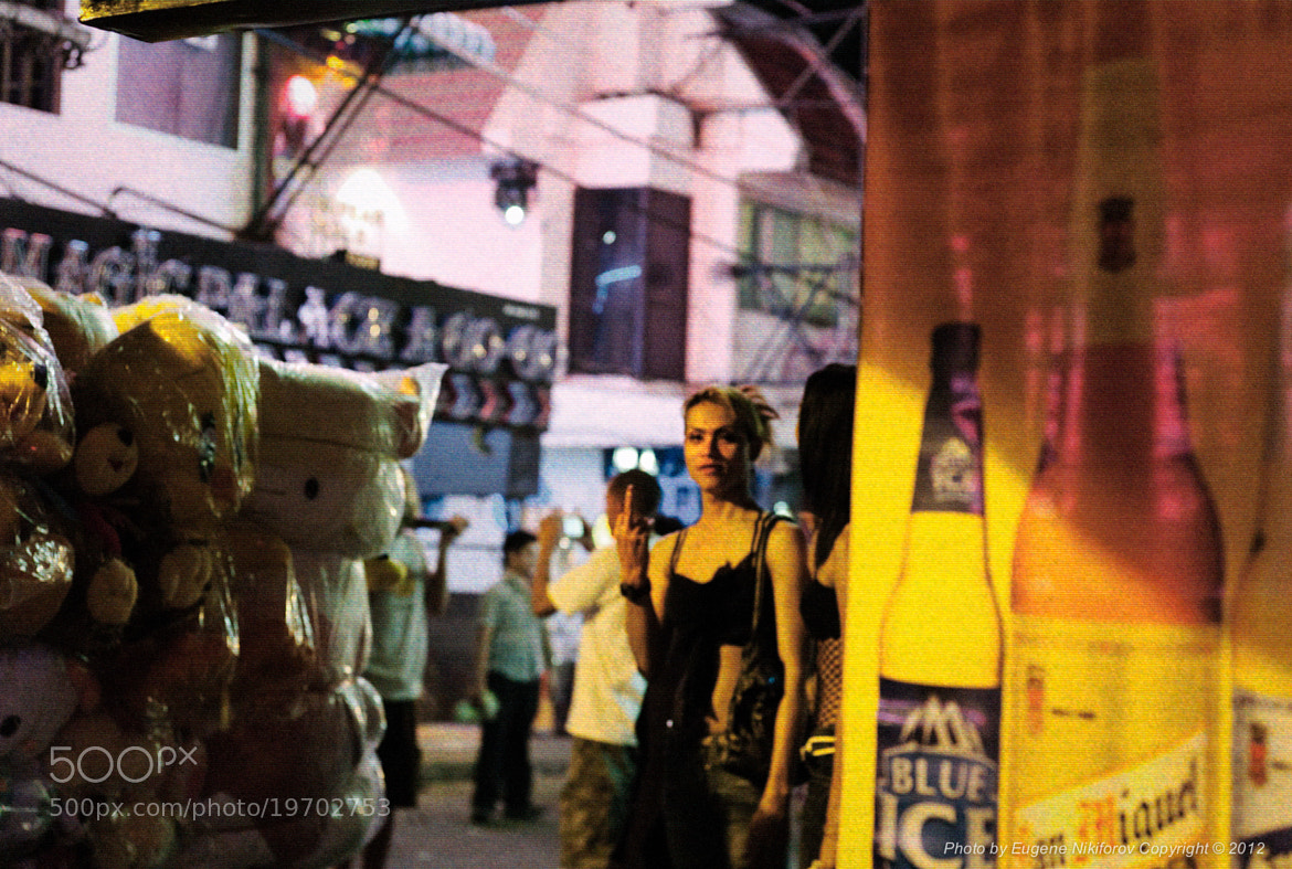 Photograph I love street photography :), Pattaya, Thailand by Eugene Nikiforov on 500px