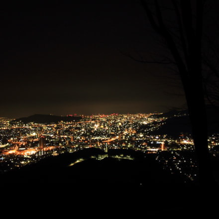 夜景, Canon EOS KISS X7, Canon EF-S 10-18mm f/4.5-5.6 IS STM