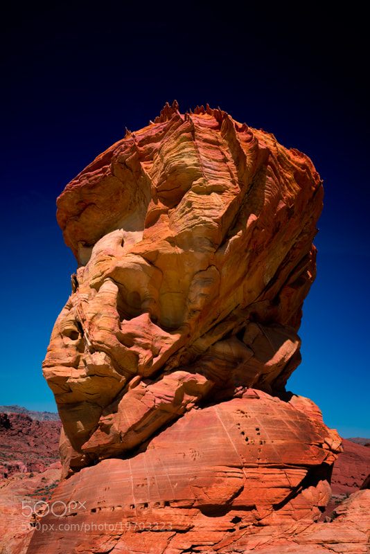 Photograph Valley of Fire - Sphinx by Jason Barnes on 500px