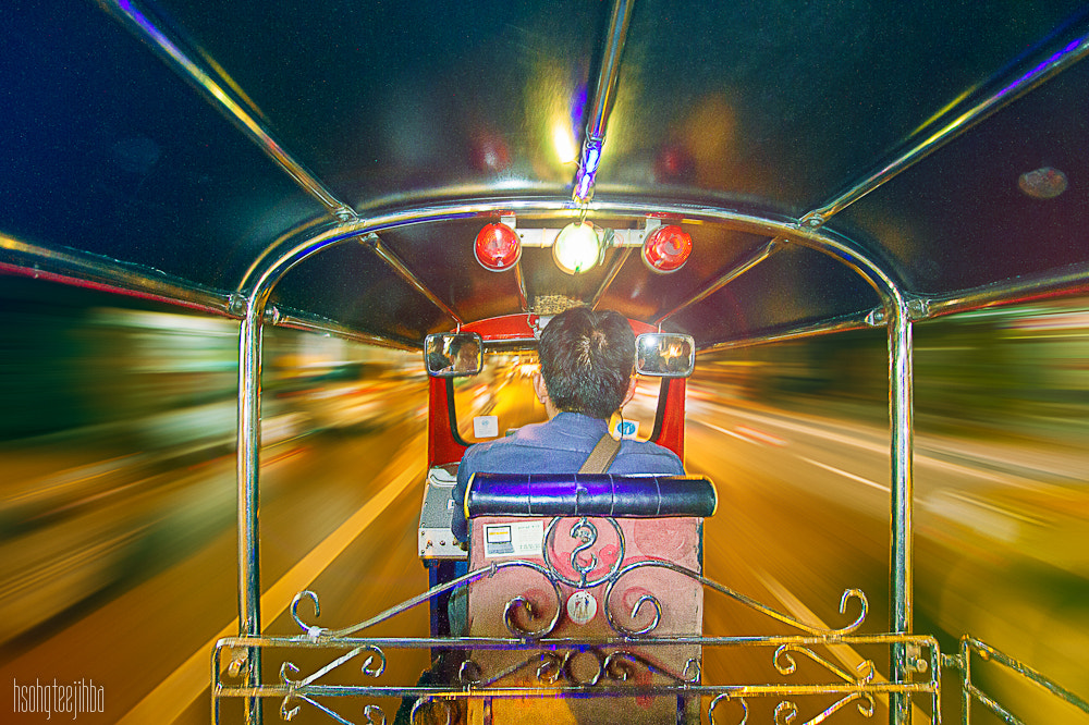 Photograph As Tron in Bangkok by Abhijeet Ghosh on 500px