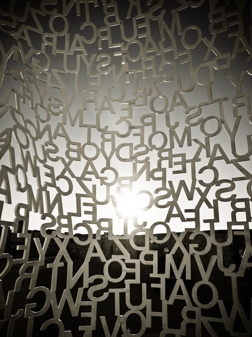 Photograph prison of words by Eric Vermeil on 500px