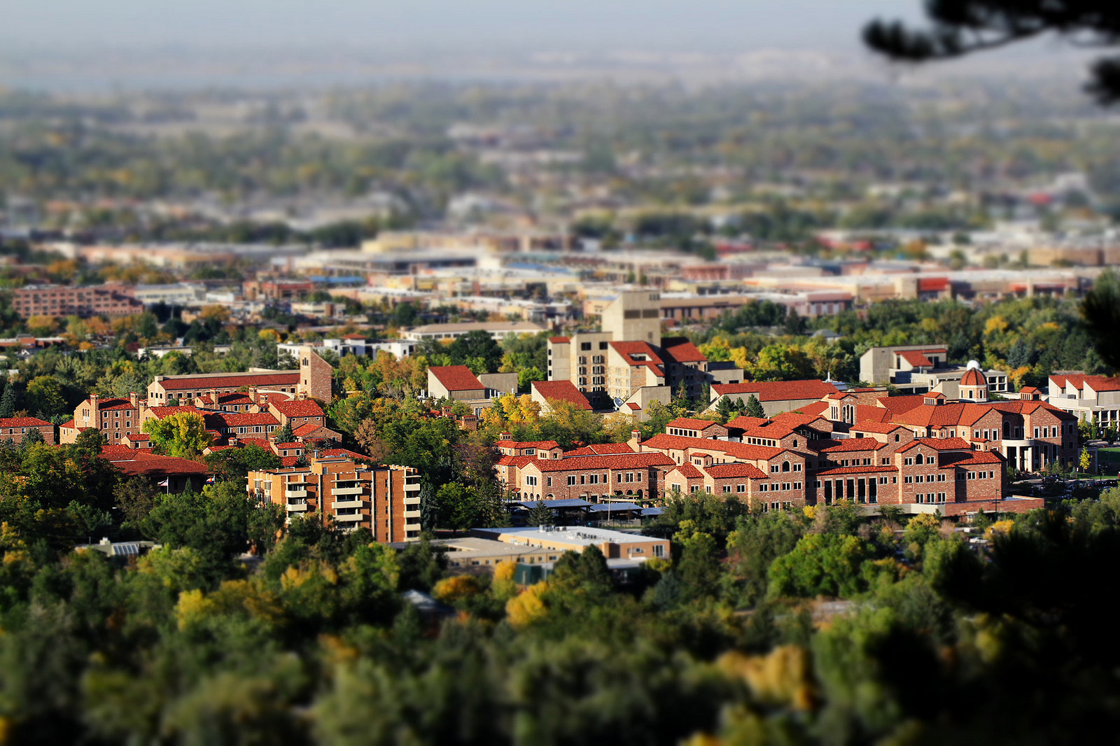 Photograph CU Campus in miniature by Parker Jackson on 500px