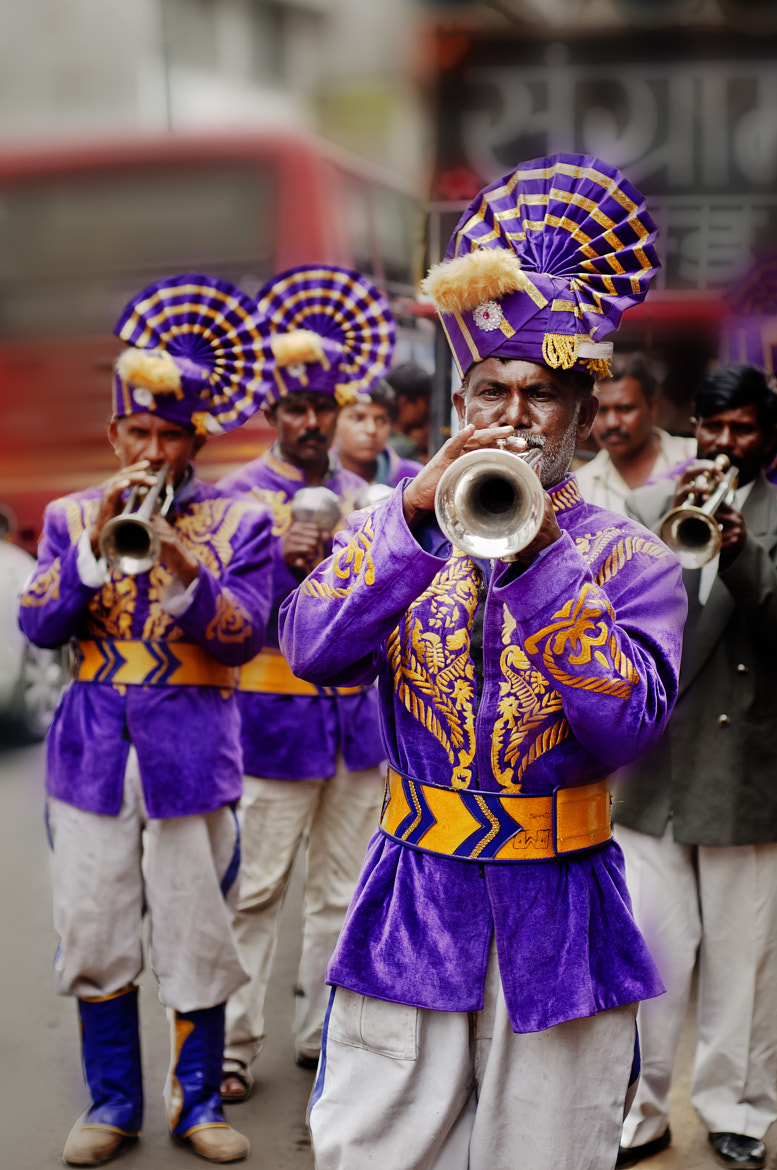 Photograph The Pied Players of Pune ~ by Anoop Negi on 500px