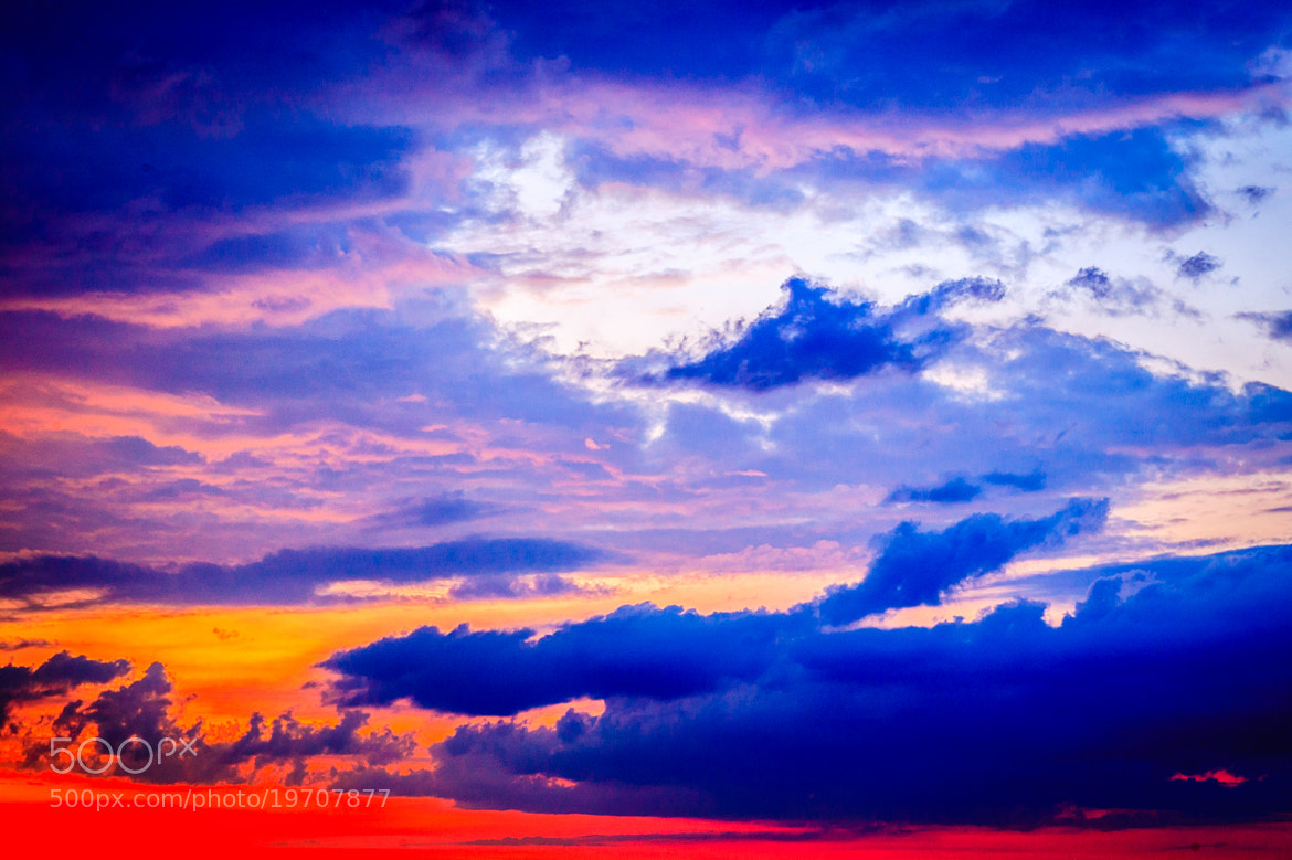 Photograph Fire in the Sky by Ernst Gamauf on 500px