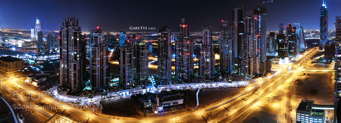 Photograph Panoramic Business Bay by Gary Foo on 500px