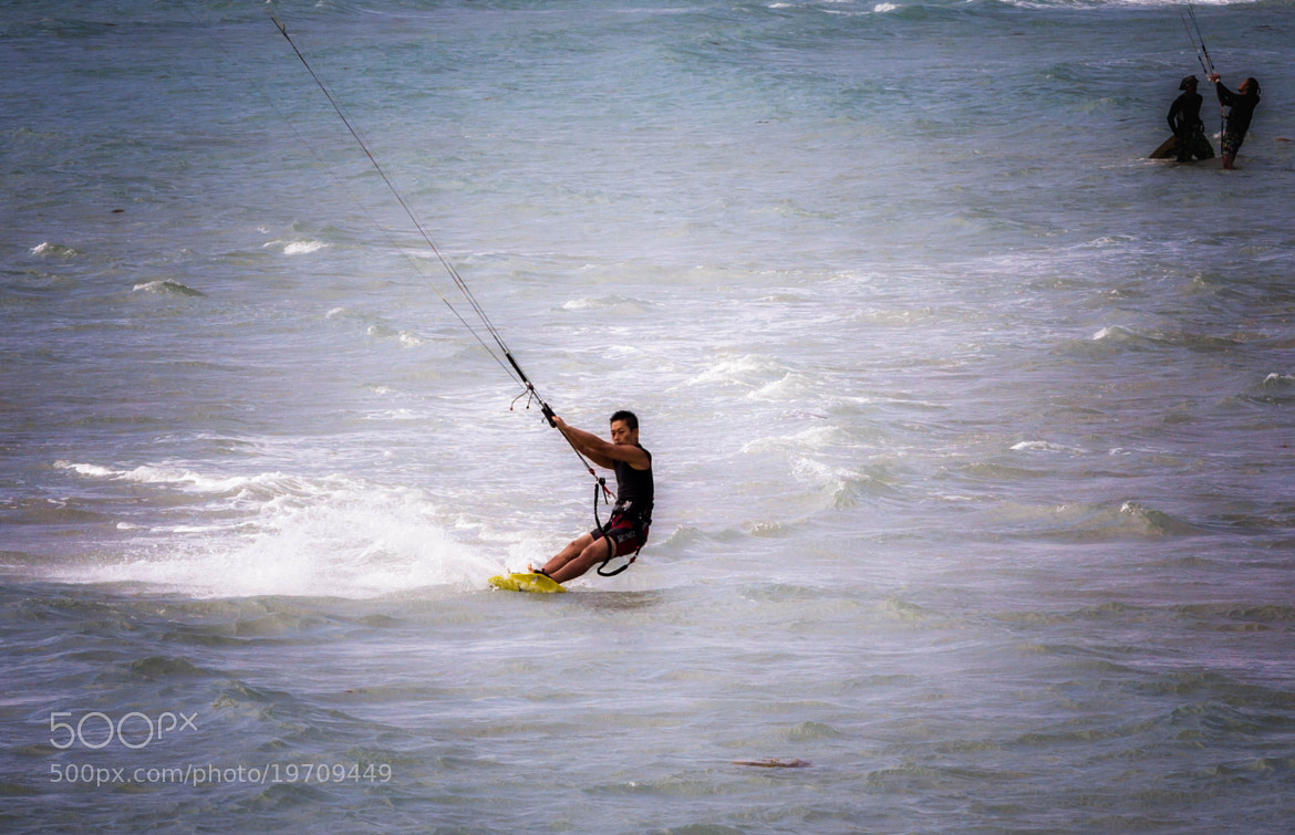Photograph Kite Surfing by David Edenfield on 500px