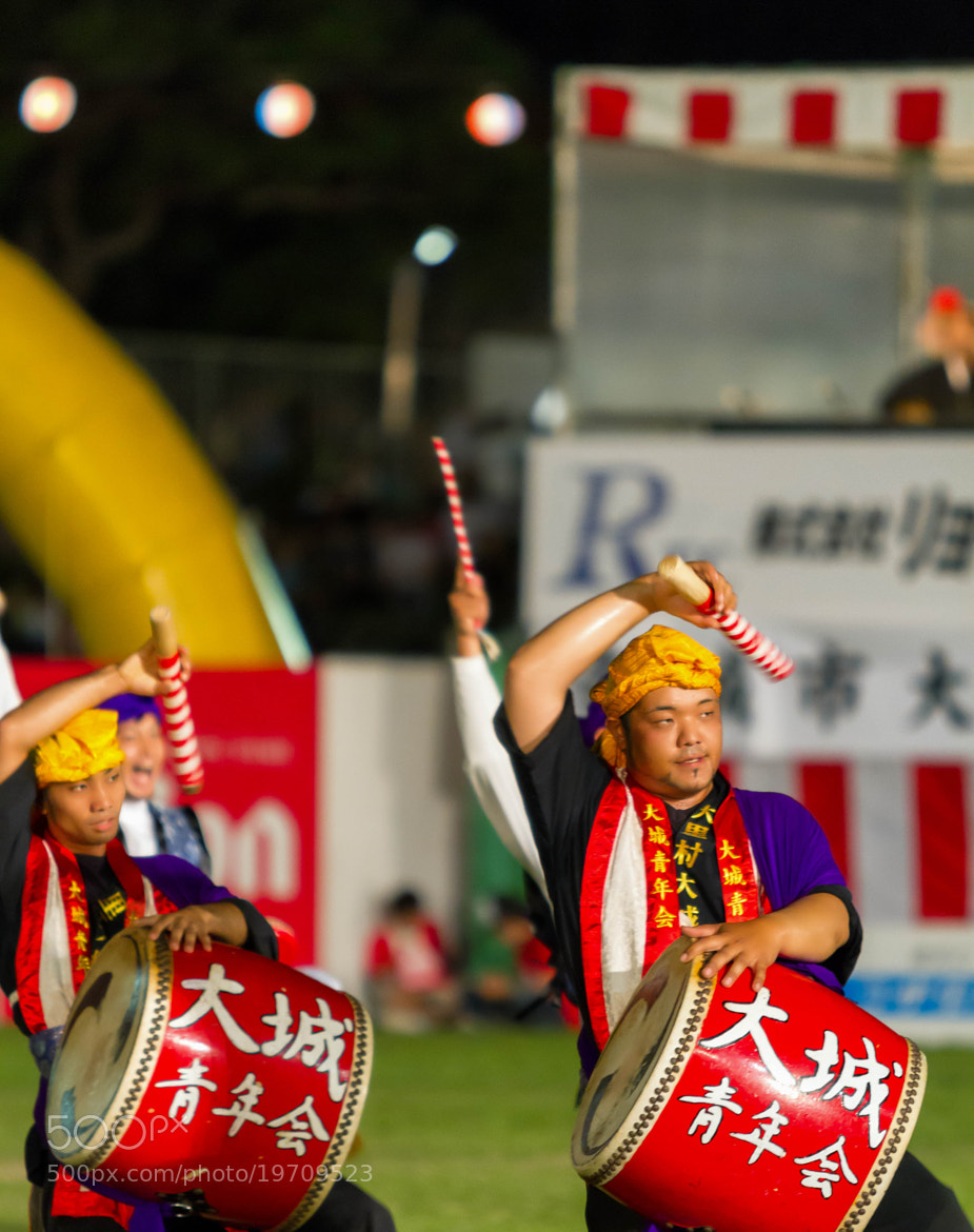 Photograph Eisa Festival, Okinawa, Japan by David Edenfield on 500px