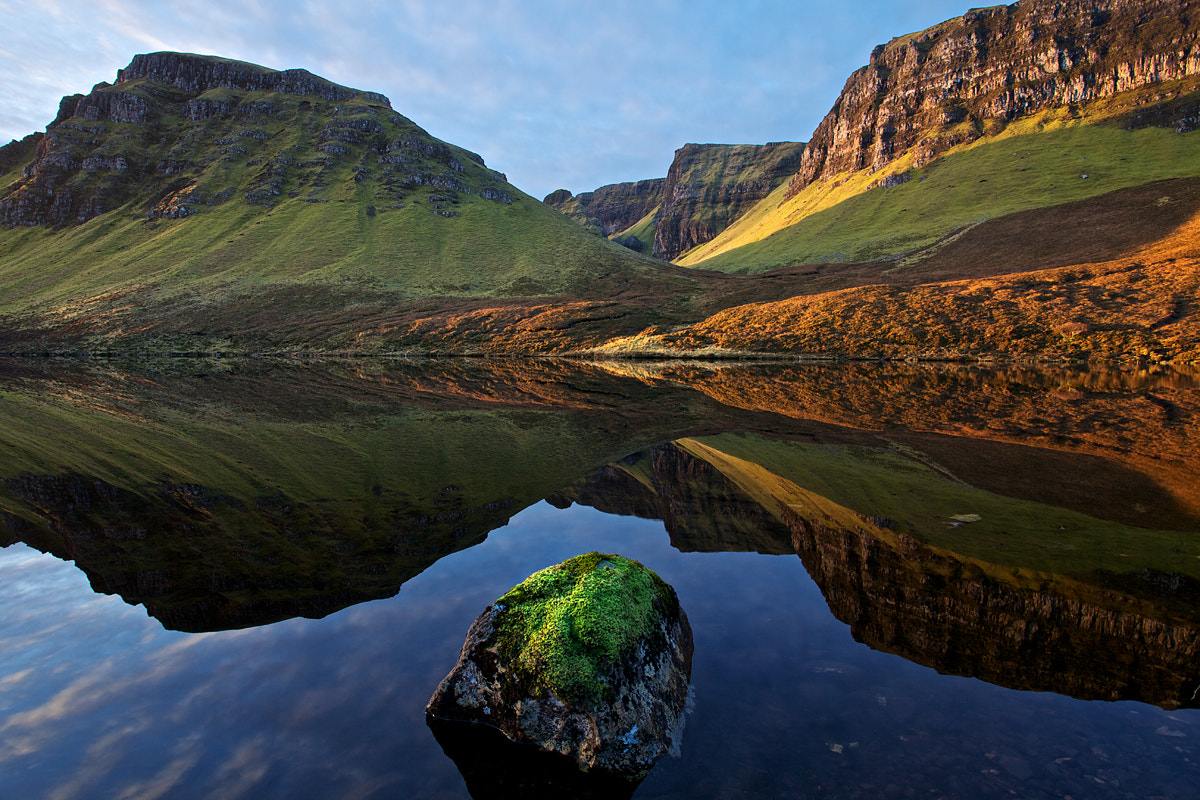Photograph Rock, Loch, and Reflection. by Marcus McAdam on 500px