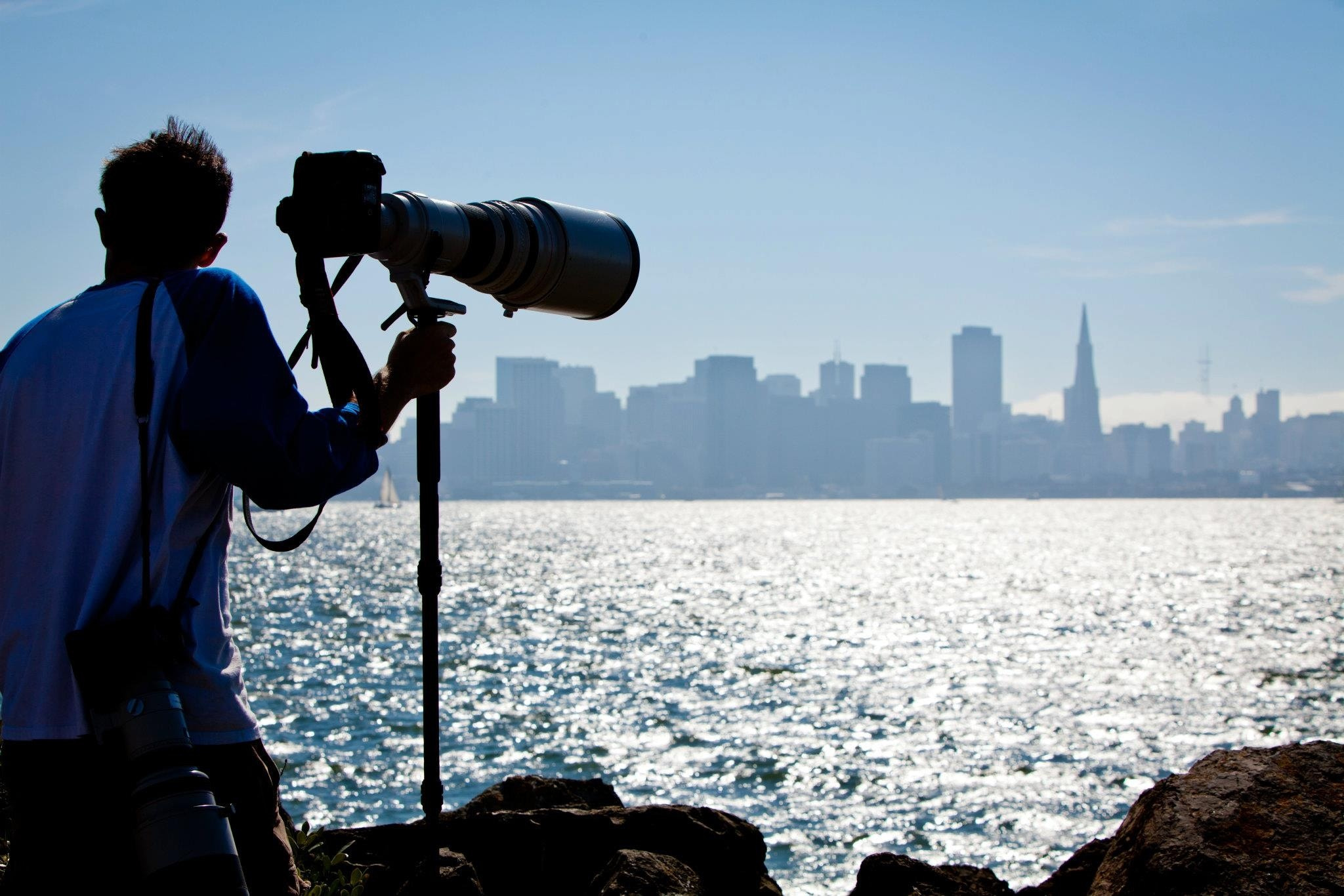 Photograph Telephoto SF by Sheldon Steere on 500px
