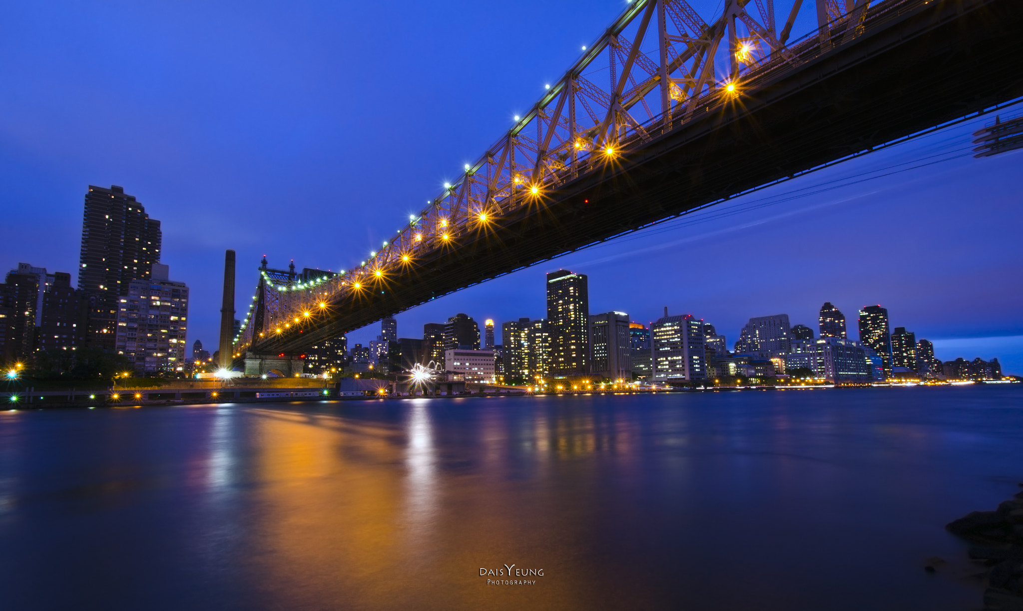Photograph Ed Koch Queensboro Bridge at Night by Daisy Yeung on 500px