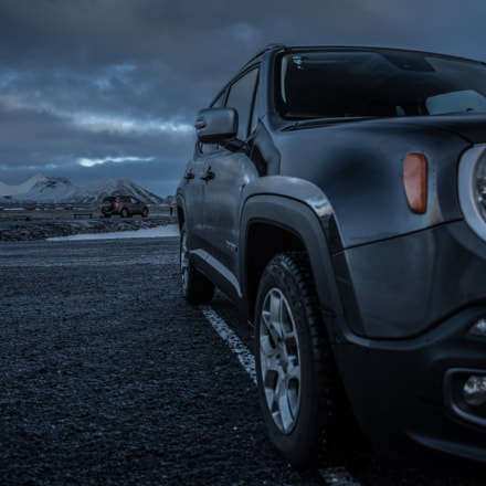 Jeep Renegade, Nikon D810