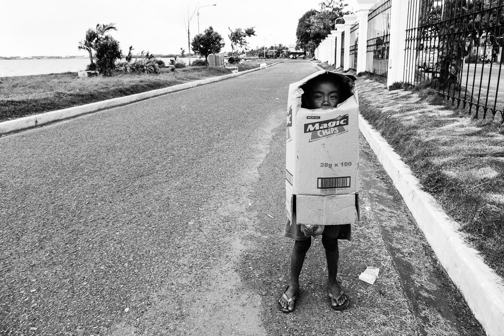 Photograph walking cardboard box by Orlando Uy on 500px