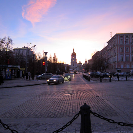 Evening in Kiev, Canon POWERSHOT A3200 IS