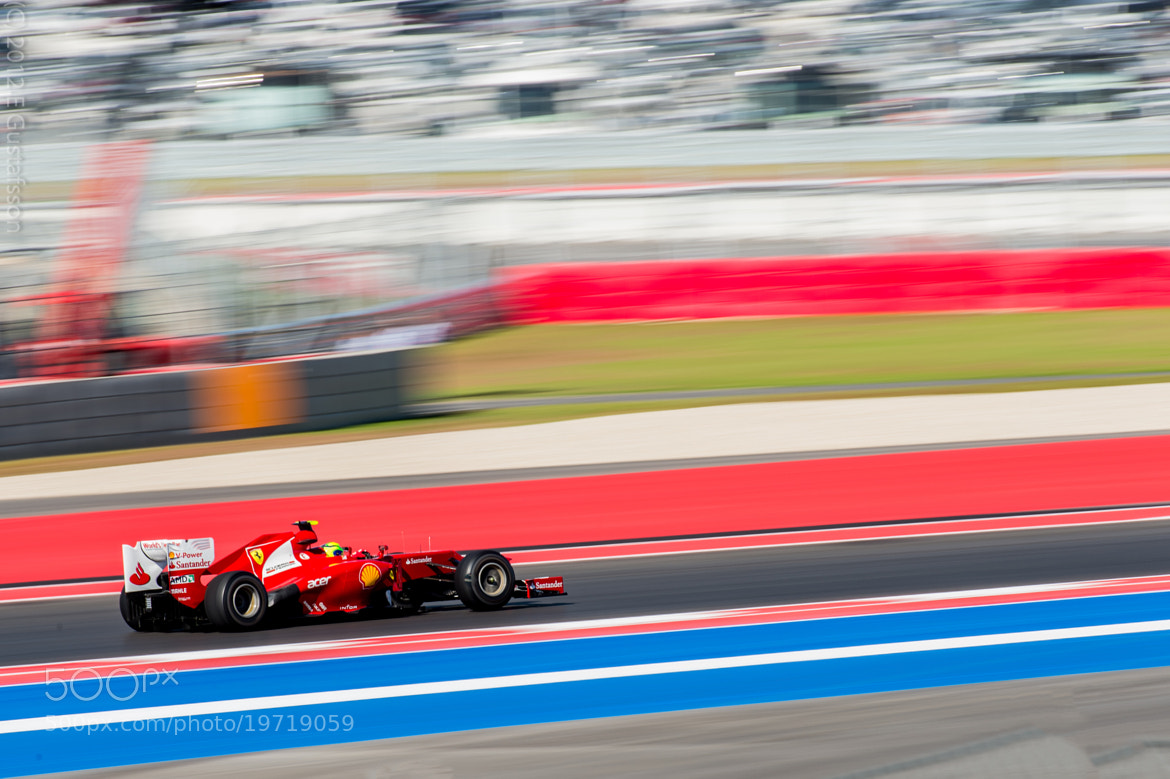 Photograph Ferrari going for turn 6 by Eje Gustafsson on 500px