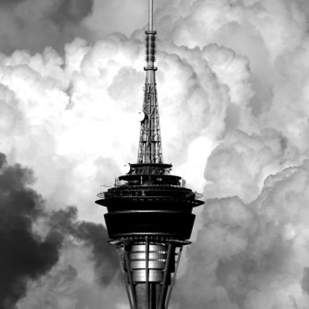 Sky's tower, Canon EOS-1D X, Canon EF 100-400mm f/4.5-5.6L IS