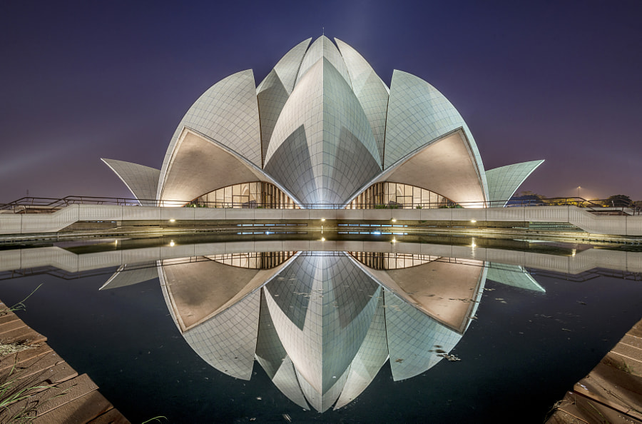 Lotus Temple by Sabbyy Sg on 500px.com