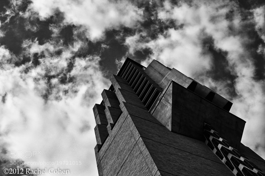 "Photograph ""Bell Tower"" 2 B&W by Rachel Cohen on 500px"