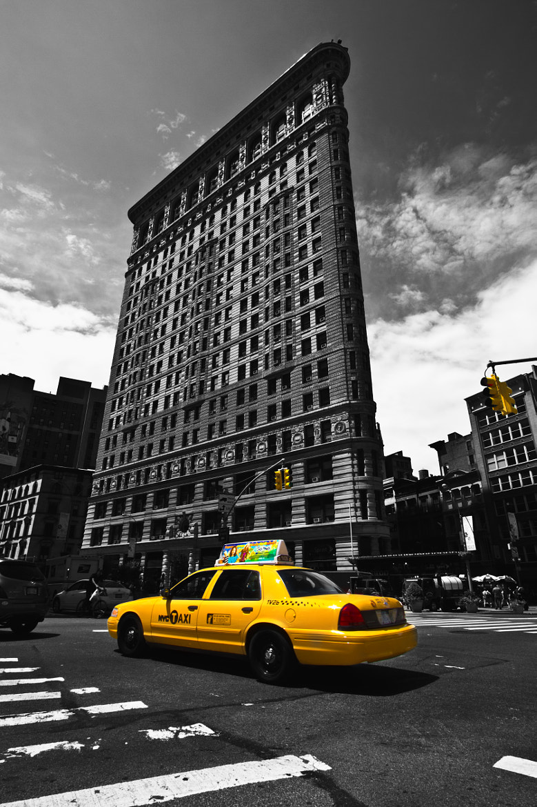 Photograph Yellow cab by Philippe Brantschen on 500px